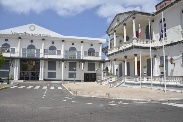 mairie de basse terre
